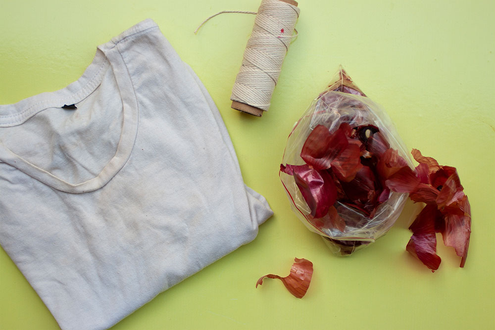 Just Because You Can Tie Dye Using Vegetable Scraps Doesn't Mean You Should