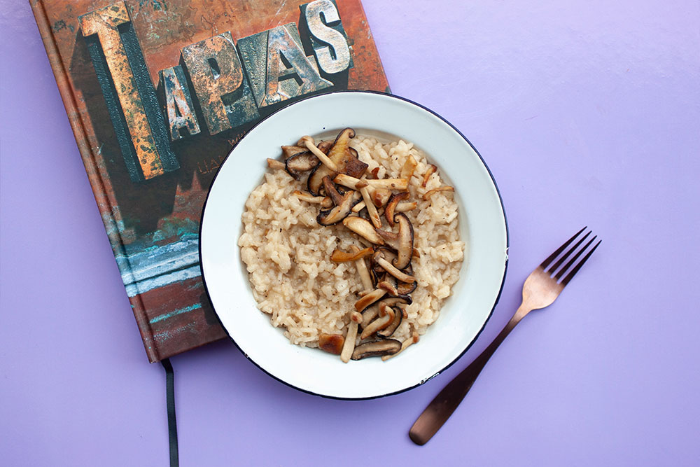The Mushroom Risotto from Tapas