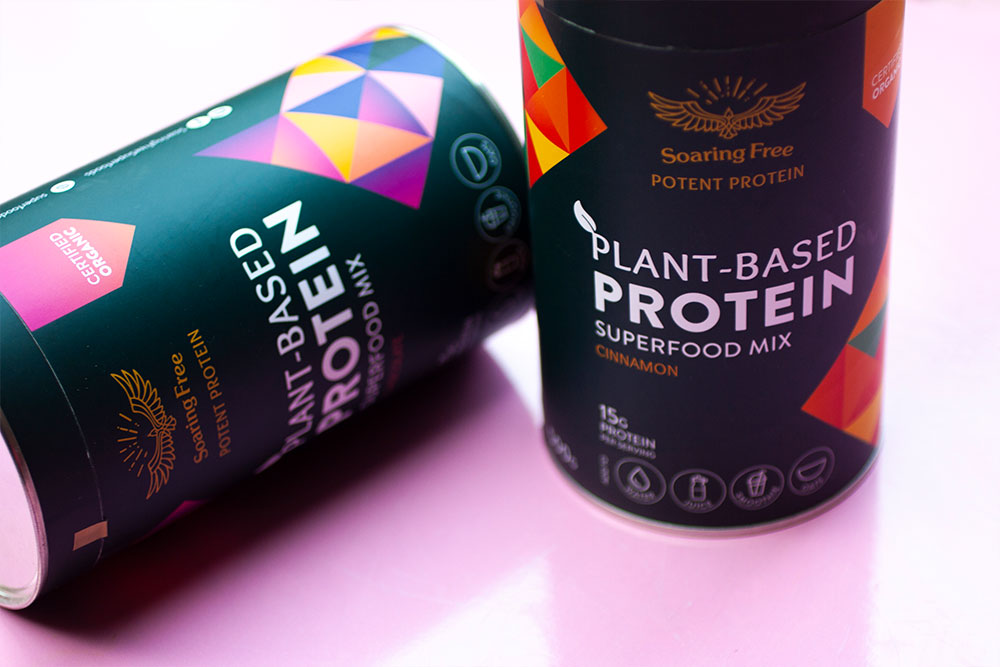 Soaring Free Superfoods Plant-Based Protein Superfood Mix