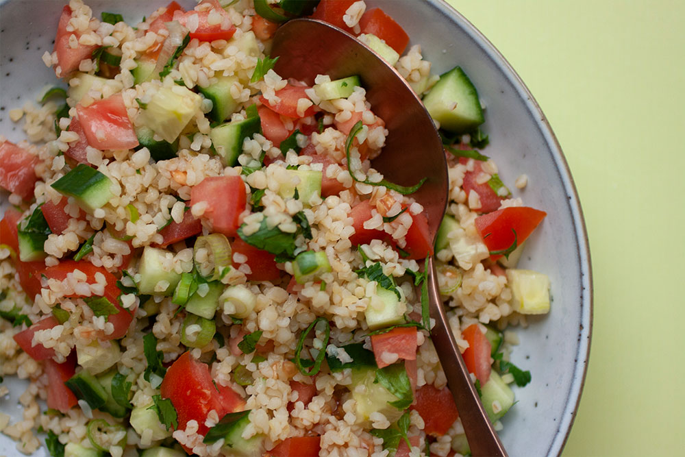 Tabouleh from Hummus to Halva