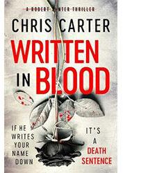 Written in Blood by Chris Carter