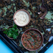 Mushroom Shawarma