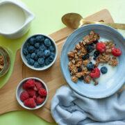 Blueberry Muffin Granola