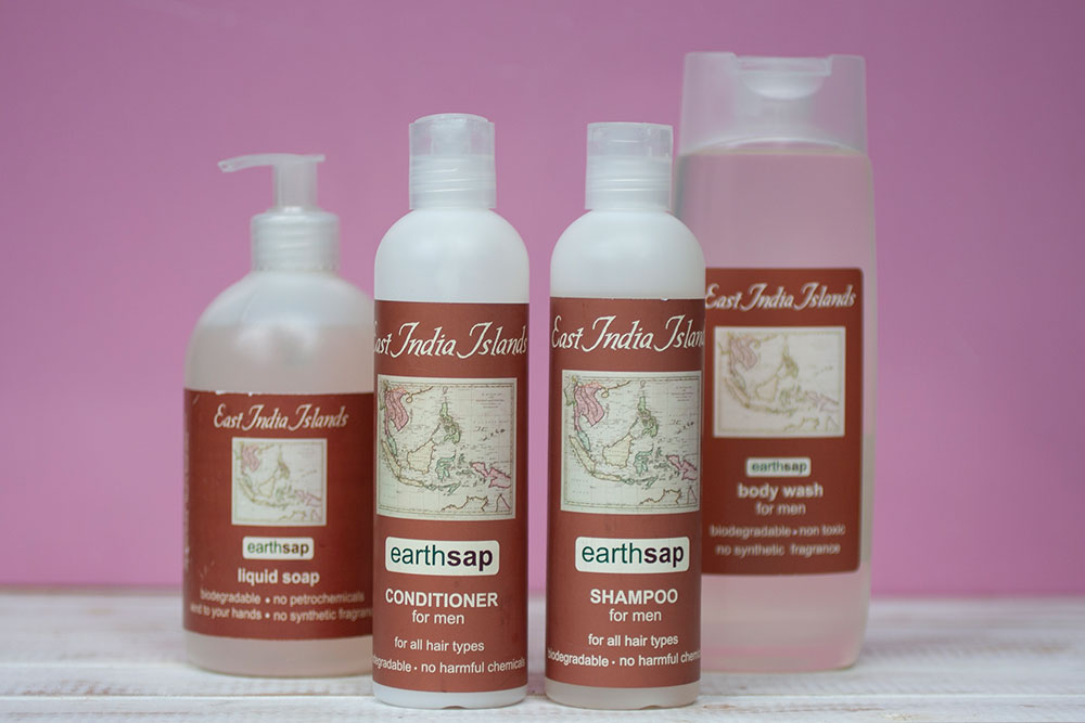 #1 Earth Sap Range of Natural Home Cleaning and Cosmetic Products