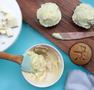 How to Make Magnolia Kitchen's White Chocolate Ganache