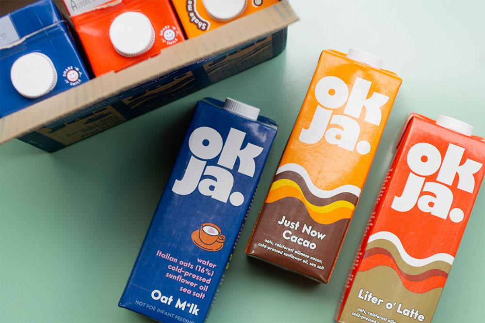 OKJA Oat Milk Trio Pack