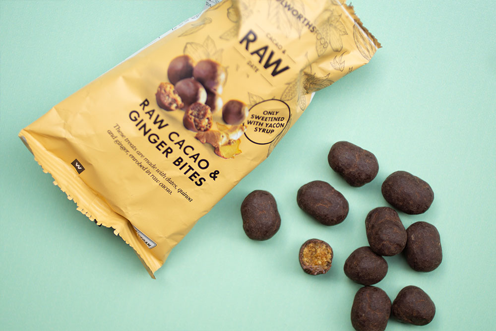Woolworths Raw Cacao and Date Bites