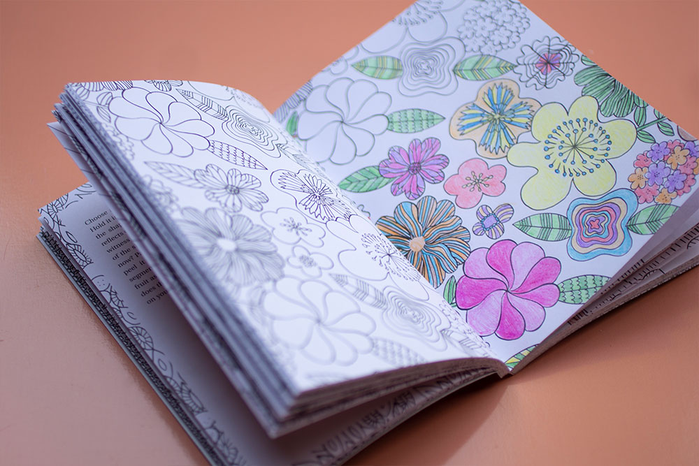 The Mindful Moments Colouring Book