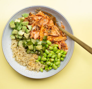 Spring-Green Smoky Trout Bowl